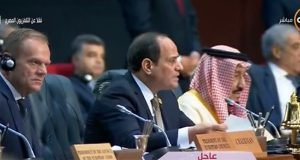 السيسي يحذر من استمرار النزاع الفلسطيني على الدول العربية