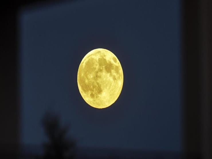 صورة القمر العملاق يطل على الأرض للمرة الثانية هذا العام