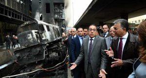 الموقف القانوني لوزير النقل المستقيل إثر حريق محطة مصر