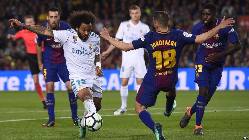 صورة بث مباشر ريال مدريد وبرشلونة في كأس ملك أسبانيا