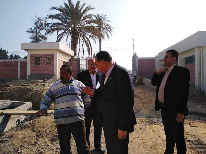 صورة محافظ الشرقية:بدء التشغيل التجريبي لمحطة مياه أبوكبير نهاية الشهر الجارى