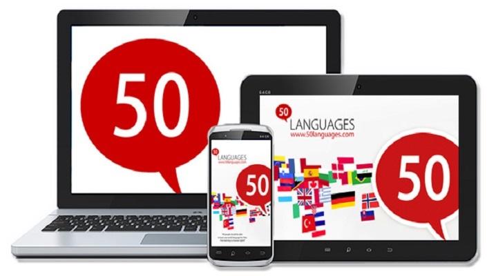 صورة تطبيق مجاني يتيح لك تعلم 50 لغة بشكل احترافي