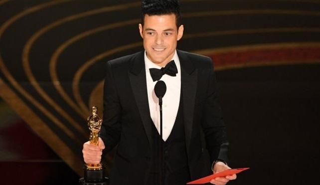 صورة رامي مالك يفوز بجائزة أوسكار 2019 كأفضل ممثل