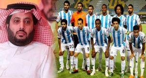 رسالة من لاعبي بيراميدز إلى تركي آل الشيخ