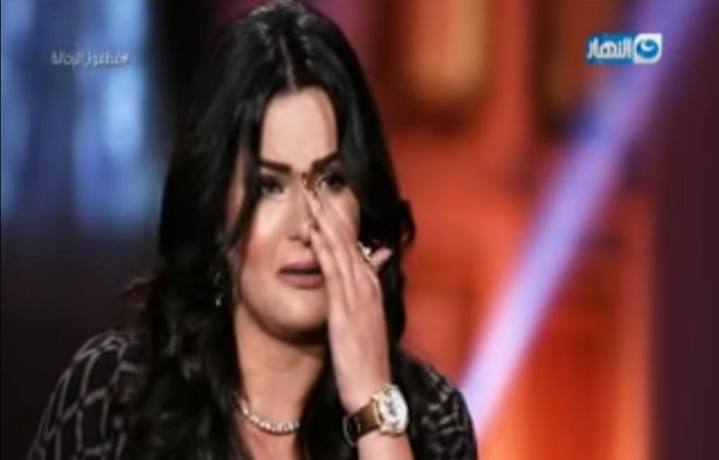 سما المصري تبكي على الهواء