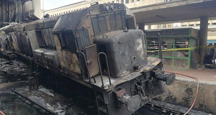 صورة صديقة إحدى مصابي قطار محطة مصر: أول مرة تيجي القاهرة