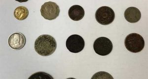 ضبط مصري حاول تهريب 18 عملة أثرية ترجع لـ5 عصور تاريخية