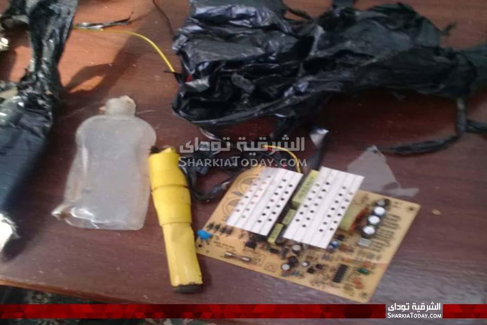 الصور الأولى للقنبلة البدائية الصنع التي عُثر عليها في محكمة أبوحماد 6