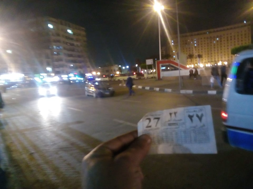 صورة هدوء بميدان التحرير بعد تداول شائعات مظاهرات اعتراضا على حادث محطة مصر