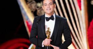 وزيرة الهجرة تهنئ رامي مالك أول مصري يحصل على الأوسكار