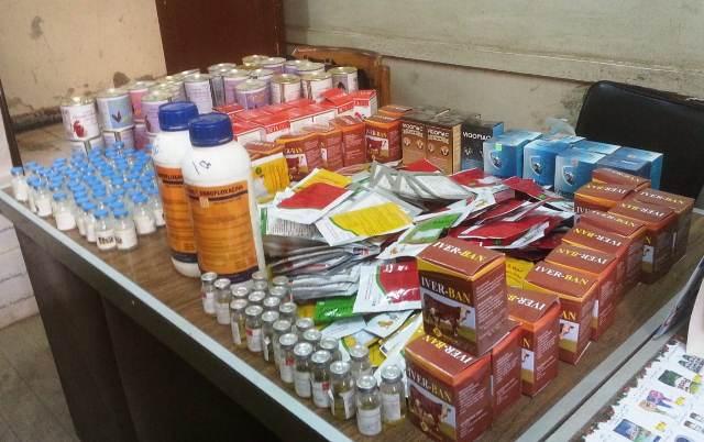 أدوية بيطرية