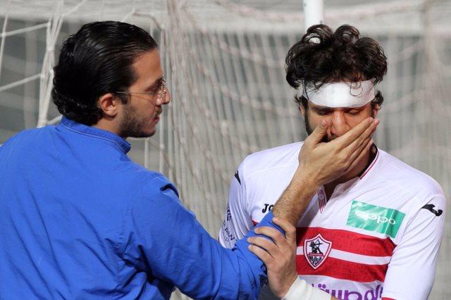 صورة إصابة ثنائي الزمالك قبل مباراة الأهلي تربك الجماهير