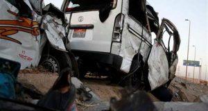 إصابة 23 شخص في حادث بالعاشر من رمضان ومحافظ الشرقية يتدخل
