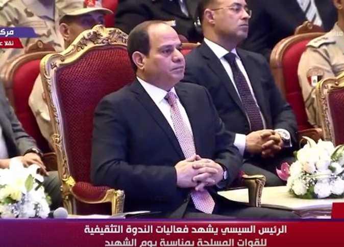 صورة السيسي عن مرتبات الجيش والشرطة: متواضعة ومحدش أبدا طلب زيادة