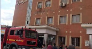 السيطرة على حريق في مستشفى ناصر ببني سويف