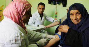 قرار وكيل وزارة الصحة باستكمال متابعة المبادرة الرئاسية للقضاء علي فيروس سي في كفر صقر .