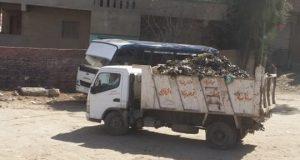 حملة لرفع القمامة من شوارع مركز الزقازيق
