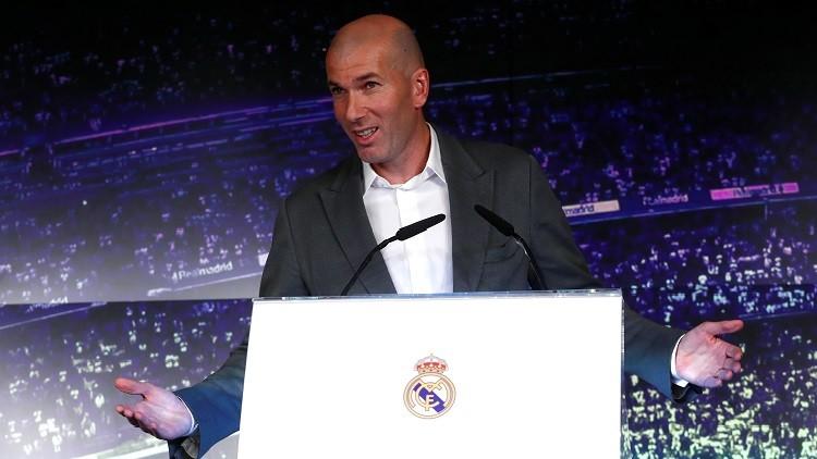 زيدان يصدم عشاق ريال مدريد العرب