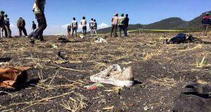 صور طائرة إثيوبيا المنكوبة