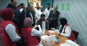 محافظ الشرقية يعلن فحص 2 مليون ونصف مواطن بحملة 100 مليون صحة