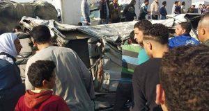 مصرع ٥ أشخاص وإصابة ٣٠ في حادث بالبحيرة