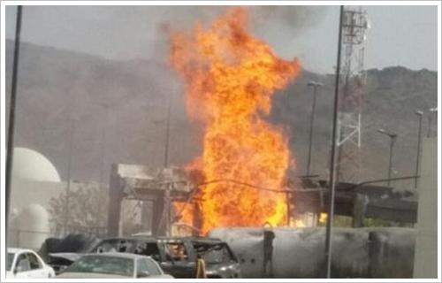 صورة مصرع 8 وإصابة 7 عمال فى انفجار خزان أحد المصانع بالعين السخنة