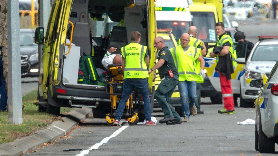 صورة الكنيسة المصرية الأرثوذكسية في نيوزيلندا تنعي ضحايا الهجوم المسلح على مسجدين
