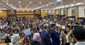 أبو هشيمة يطلب من الشباب المشاركة في التعديلات الدستورية