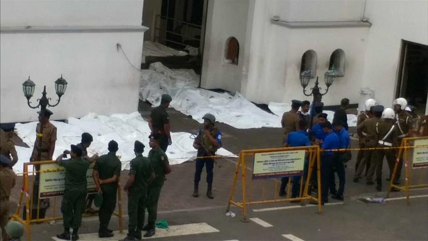 أول فيديو لمنفذ تفجيرات سريلانكا