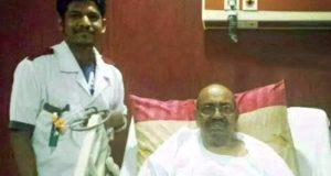 إصابة عمر البشير بجلطة بعد إضرابه عن الطعام