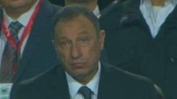 صورة رد فعل غير متوقع للخطيب بعد خروج الأهلي من دوري أفريقيا