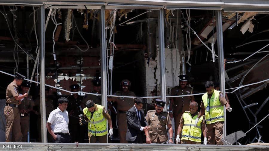 صورة انفجار جديد فى سريلانكا عبوة ناسفة بقاعة سينما