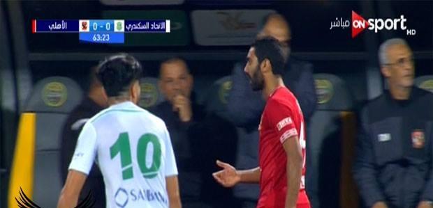 صورة أول تعليق من حسين الشحات على انفعاله.. وهكذا عاقبه الأهلي