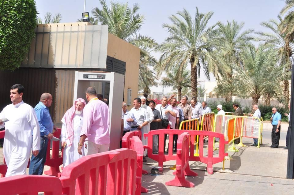 صورة المصريون يتوافدون للمشاركة في الاستفتاء على التعديلات الدستورية بالسعودية