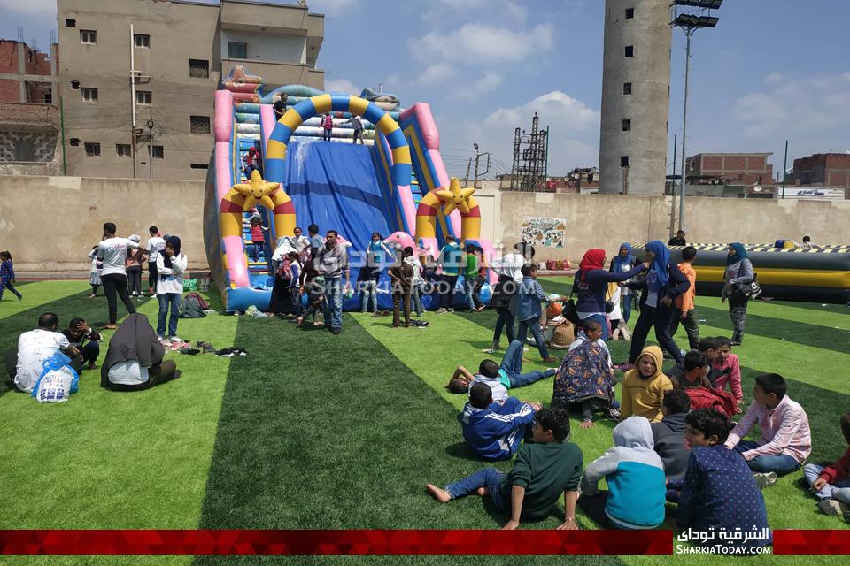 رسالة بالزقازيق تنظم أكبر مهرجان للاحتفال بيوم اليتيم بمشاركة 420 طفل13