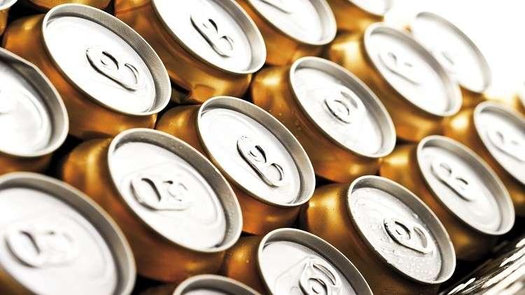 صورة تحذير من خطر المشروبات الغازية بالعبوات المعدنية