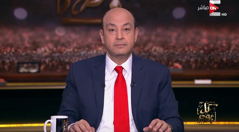 صورة رئيس الزمالك يفتح النار على عمرو أديب
