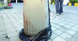 جثة مقطعة داخل حقيبة في الجيزة