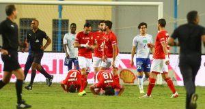 الأهلي مهدد بفقدان نجميه قبل مباراة إنبي