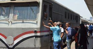 رسوم على تذاكر القطارات