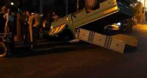 إصابة 11 شخص في حادث مروع بالشرقية
