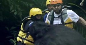 رد فعل أحمد رزق بعد ظهور غوريلا رامز في الشلال