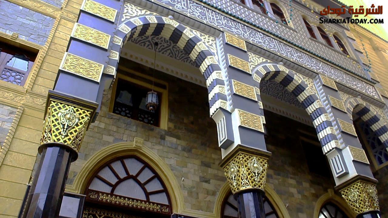 صورة النسخة التانية من المسجد النبوي في الشرقية.. زخارف إسلامية ورحانيات ربانية
