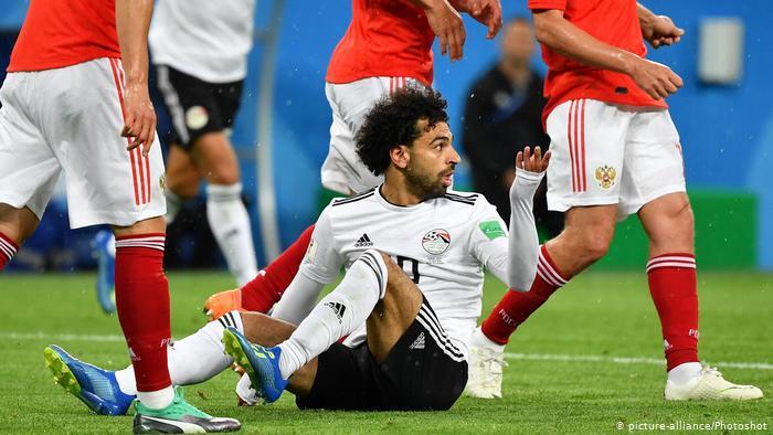 صورة استبعاد محمد صلاح من مباراة مصر وتنزانيا