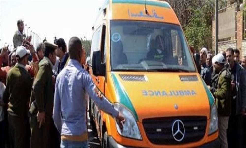 صورة إصابة 8 أشخاص في حادث تصادم بالشرقية