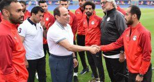 السيسي ومنتخب مصر