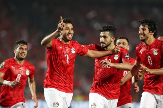 صورة بث مباشر مباراة مصر والكونغو بأمم إفريقيا 2019