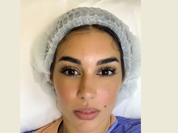 صورة ياسمين صبري تتعرض لوعكة صحية