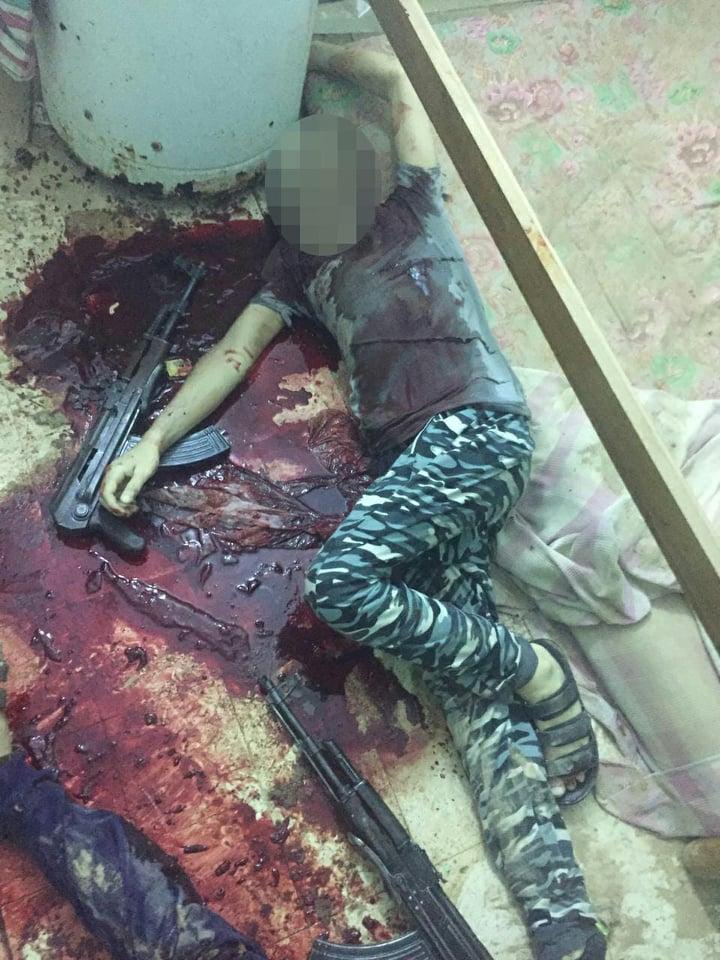 صورة الداخلية تصفي 14 إرهابي من منفذي هجوم كمين العريش