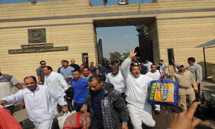 صورة الإفراج عن 513 سجينًا بمناسبة ثورة يوليو وعيد الأضحى
